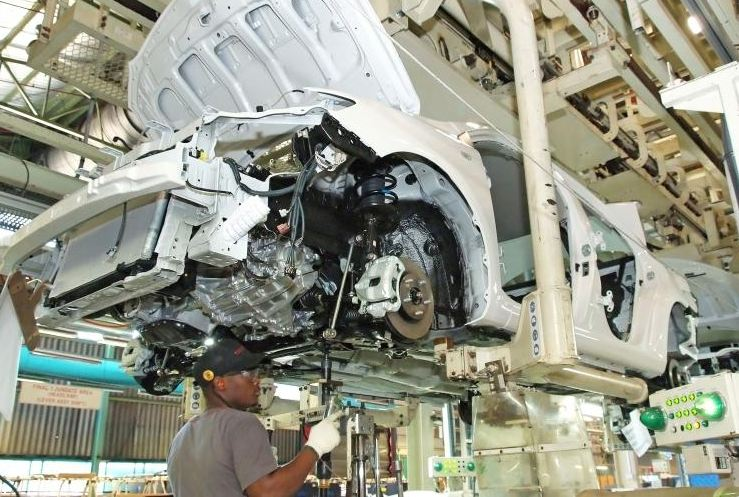 Toyota Quest assembly