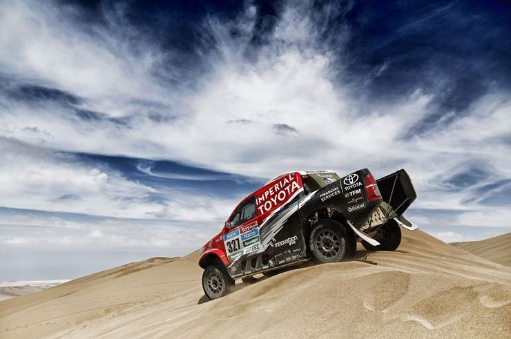 Dakar Stage 11 sky dune