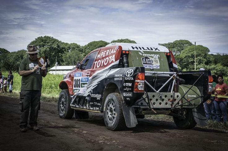 Dakar gravel