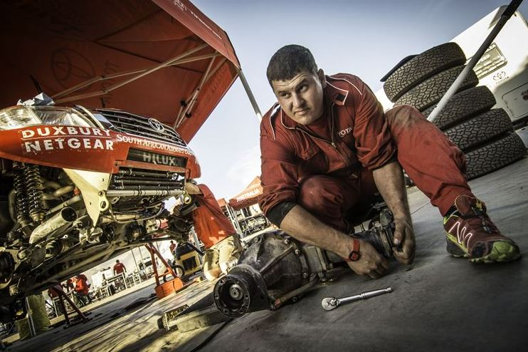 Dakar stage 4 maintenance