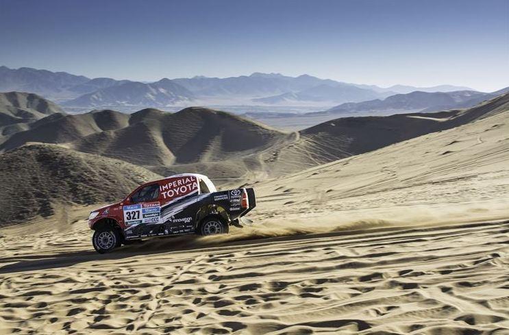 Dakar stage 4